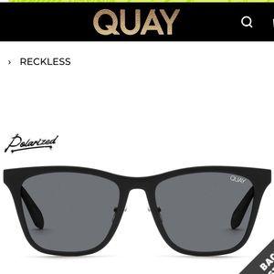 QUAY Australia Men's Reckless Polarized Sunglasses
